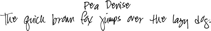 Click to Download Cute Free Handwriting Fonts